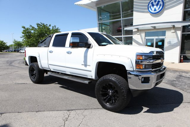 2015 Chevy Silverado Lifted >> Pre Owned 2015 Chevrolet Silverado 2500hd Ltz Crew Lifted 4wd Crew Cab Pickup